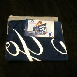 New York Yankees NY Beach Towel MLB Baseball Base Ball Showe