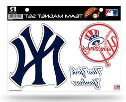 New York Yankees NY Multi Die Cut Magnet Sheet Auto Home NBA