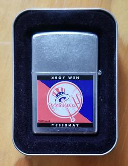 New York Yankees Official MLB Zippo Lighter -Rare find