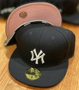 "New York Yankees OTC New Era QT 59Fifty Wool ""Pinky"" Pink Un"
