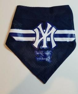 "New York Yankees Pet Dog Neck Bandana Size Large 21"" wide x"