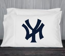 New York, Yankees, Pillowcase, Standard, Queen Size, Microfi