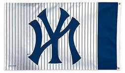 New York Yankees PinStripes WC0254115 3x5 Flag w/grommets Ho