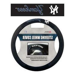 New York Yankees Poly Suede Steering Wheel Cover  Car Truck