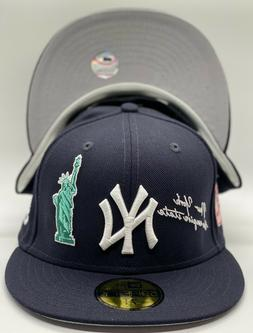 "New York Yankees New Era QT NYC20 ""ICON"" 59Fifty OTC Wool Gr"