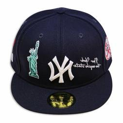 "New Era New York Yankees QT NYC20 ""THE ICON"" 59Fifty Wool Gr"