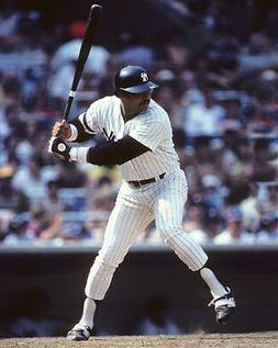 New York Yankees REGGIE JACKSON Glossy 8x10 Photo Baseball P
