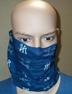 New York Yankees Scarf Bandana Hair Tie Pony Tail Fan Stretc