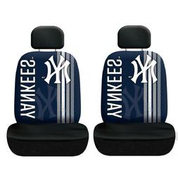 New York Yankees Set of 2 Rally Print Seat Covers