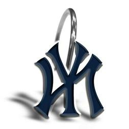 The Northwest Company New York Yankees Shower Curtain Rings