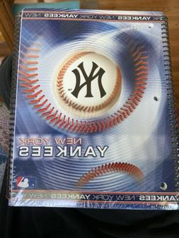 New York Yankees Spiral Notebooks  Sealed Package Of Two MLB