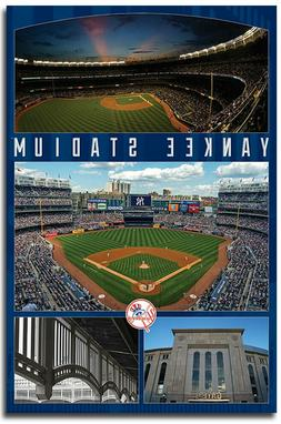 New York Yankees Stadium Collect Refrigerator Magnets Size 2