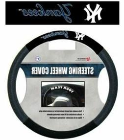 New York Yankees Steering Wheel Cover Mesh Style**Free Shipp