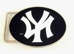 New York Yankees Team Logo Belt Buckle  Licensed