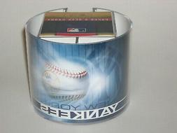 New York Yankees Team Logo Desk Caddy with 750 Sheet Note Pa