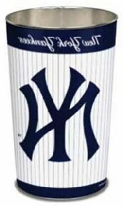 New York Yankees Wastebasket 15 Inch Pinstripes Design**Free