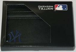 New York Yankees Weekend Wallet MLB Licensed