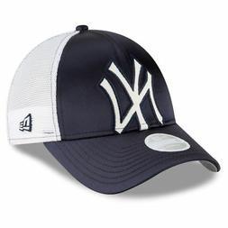 New York Yankees Hat Satin Chic Women's Adjustable Cap By Ne