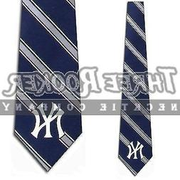 New York Yankees Woven Poly Necktie - Poly 1