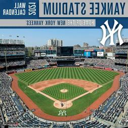 New York Yankees Yankee Stadium 2021 12x12 Stadium Wall Cale