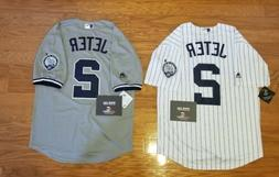 NWT Men's Derek Jeter New York Yankees MLB jersey w/Retireme