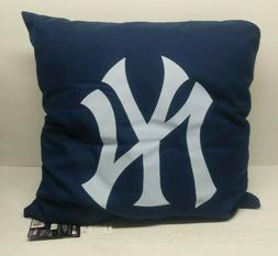 "NORTHWEST NWT THROW PILLOW BED COUCH CHAIR 18"" NY YANKEES"