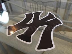 New York Yankees NY Logo Sticker Decal Vinyl MLB The Bronx B
