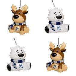 ny new york yankees 4 pack reindeer