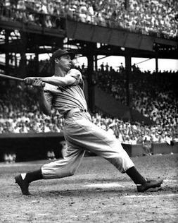 NY New York Yankees JOE DIMAGGIO Glossy 8x10 Photo Baseball