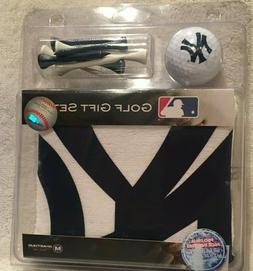 NY Yankees Golf Gift Set Golf Towel,Tees & NY Golf Ball - GR