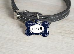 Pet ID Tag New York Yankees Personalized Custom Double Sided