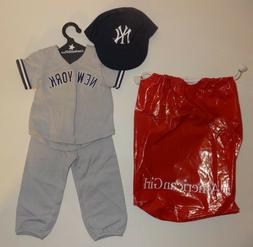 RARE NY YANKEES LIM.ED. AMERICAN GIRL DOLL BASEBALL UNIFORM