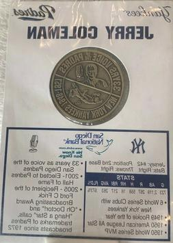 San Diego Padres & New York Yankees Jerry Coleman Commemorat