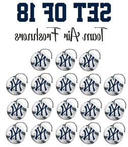 Set of 18 New York Yankees Team Helmet Car Vehicle Room Cave
