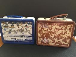 sga tin metal lunchbox celebrating 100 year