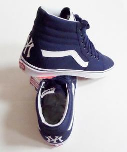 Vans SK8 Hi-MLB New York Yankees Skate Shoes