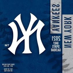 TURNER Sports New York Yankees 2021 Box Calendar