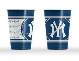 TWENTY  NEW YORK YANKEES, REUSABLE PAPER CUPS FROM DUCKHOUSE