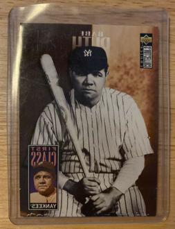 UD Collector's Choice Babe Ruth New York Yankees #500