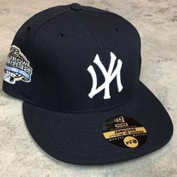 VTG NEW YORK YANKEES WORLD SERIES HAT Fitted 6 3/4 Wool Era