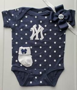 yankees infant baby girl clothes girl yankees