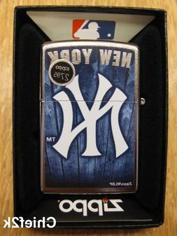 Zippo Lighter MLB New York Yankees 29795 Street Chrome